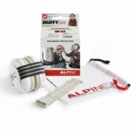 Alpine - Muffy Baby Hallásvédelem csecsemőknek Fekete
