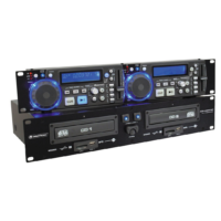 Omnitronic - XDP-2800 Dual CD/MP3 Player