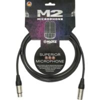 Klotz - mikrofonkábel 20 m Klotz XLR3M-XLR3F csatlakozók+MC2000 fekete kábel