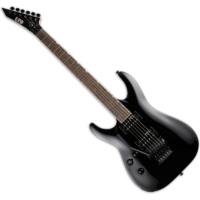 LTD - MH-200 Black 6 húros balkezes elektromos gitár ajándék félkemény tok