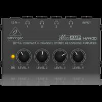 Behringer - HA400 Microamp Stereo fejhallgató erősítő