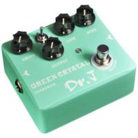Dr.J effektpedál - Green Crystal Overdrive