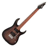 Cort - X100OPBK elektromos gitár, fekete burst