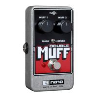 Electro-harmonix effektpedál - Double Muff Nano