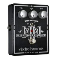 Electro-harmonix effektpedál XO-Micro Metal Muff