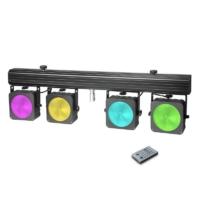 Cameo - Light LED reflektor készlet 4x30 W-os RGB COB LED