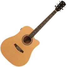 Prodipe - SD25 CEQ Dreadnought elektroakusztikus gitár, szemből