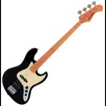 Prodipe - JB80 MA Black elektromos basszusgitár, szemből