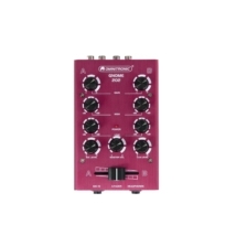 OMNITRONIC - GNOME-202 Mini Mixer red