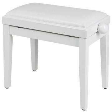 Soundsation - SBH-100P-WH fa zongorapad műbőr ülőfelülettel fehér