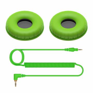 Pioneer DJ - Accessory Pack HDJ-CUE1 Fejhallgatókhoz Zöld