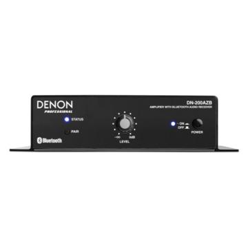 Denon Pro - DN-200AZB Erősítő Bluetooth vevőegységgel, szemből