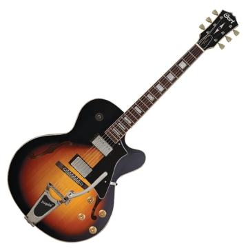 Cort - YorktownBV-TAB Félakusztikus gitár tobacco sunburst