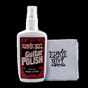 Ernie Ball - Guitar Polish with Cloth