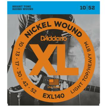 D'Addario - EXL140 Nickel 10 - 52