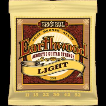 Ernie Ball - Earthwood Bronze Light 11-52 Akusztikus Gitárhúr készlet