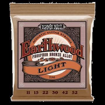Ernie Ball - Earthwood Phosphor Bronze Light 11-52 Akusztikus Gitárhúr készlet