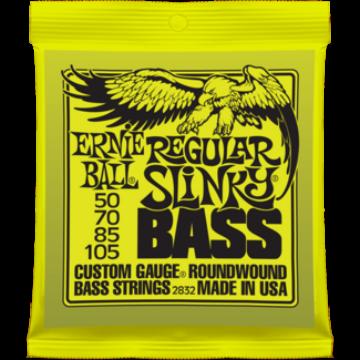 Ernie Ball - Nickel Wound Regular Slinky Bass 50-105 Elektromos Basszusgitárhúr készlet