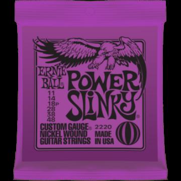Ernie Ball - Nickel Wound Power Slinky 11-48 Elektromos Gitárhúr készlet