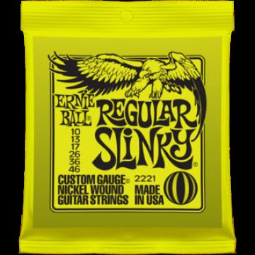 Ernie Ball - Nickel Wound Regular Slinky 10-46 Elektromos Gitárhúr készlet