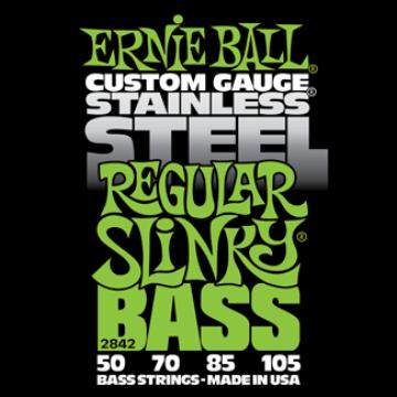 Ernie Ball - Stainless Steel Regular Slinky Bass 50-105 Basszusgitárhúr készlet
