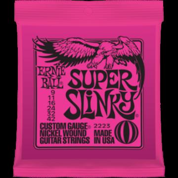 Ernie Ball - Nickel Wound Super Slinky 9-42 Elektromos Gitárhúr készlet