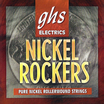 GHS - NICKEL ROCKERS EXTRA LIGHT 9-42 Elektromos gitárhúr készlet