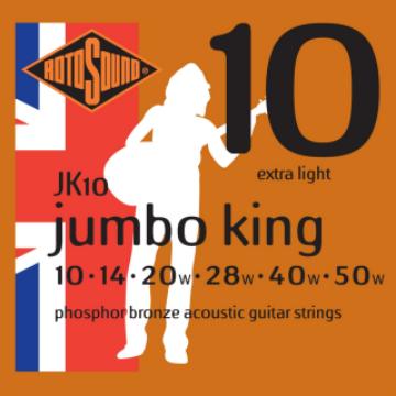 Rotosound JK10 - 50 akusztikus gitárhúr készlet