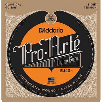 D'Addario EJ43 Pro-Arté Nylon Light Tension klasszikus gitárhúr