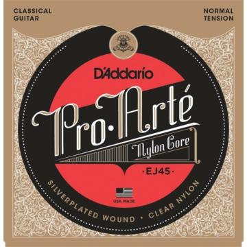 D'Addario EJ45 Pro-Arté Nylon Normal Tension klasszikus gitárhúr