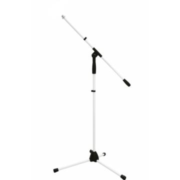 OMNITRONIC - Microphone Tripod MS-1W with Boom Arm white