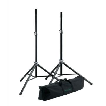 König & Meyer - hangfalállvány készlet 2 darab ahumínium állvány hordtáskában