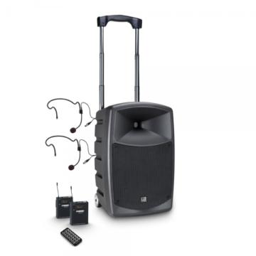 LD Systems - Road Buddy 10 BHP2 aktív akkumulátoros Bluetooth hangrendszer