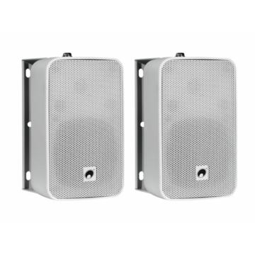OMNITRONIC - ODP-204T Installation Speaker 100V white 2x