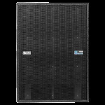 dB Technologies - DVA S1521N, szemből