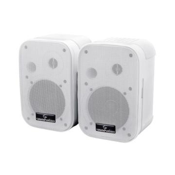 Soundsation - SPWM-05P-WH 50W Fehér passzív fali hangfalpár