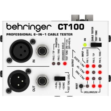 Behringer - CT100 Kábel teszter