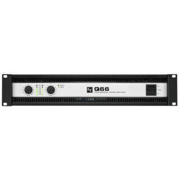 Electro Voice - Q66-II végfok erősítő 2x600 Watt/4 Ohm
