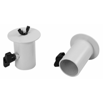 OMNITRONIC - BOB-4 Stand Adaptor white 2x