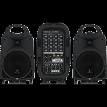 Behringer - Europort  PPA500 BT hordozható pa system