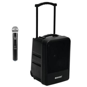 OMNITRONIC - MOM-10BT4 hordozható PA Kézimikrofonos Szett