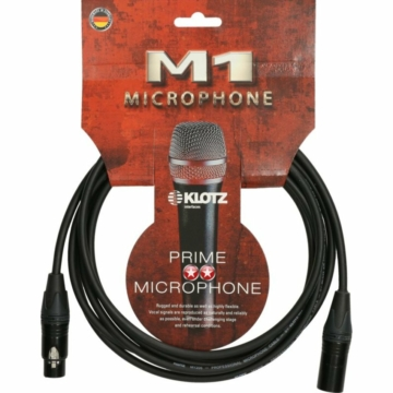 Klotz - mikrofonkábel, 2 m – Neutrik XLR3M - XLR3F csatlakozók