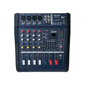 Voice Kraft - PMX402D Powermixer 2x250W/4Ohm
