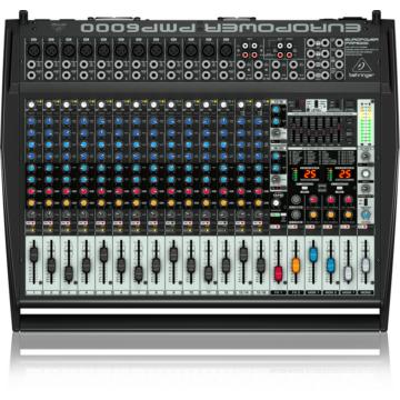 Behringer - PMP6000 keverőerősítő 2x 800W