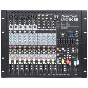 Omnitronic - LMC-2022FX USB Mixing console eleje