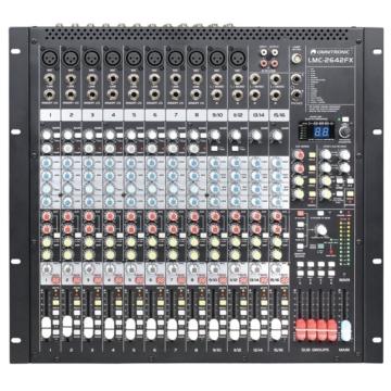 Omnitronic - LRS-2642 USB Mixing console eleje