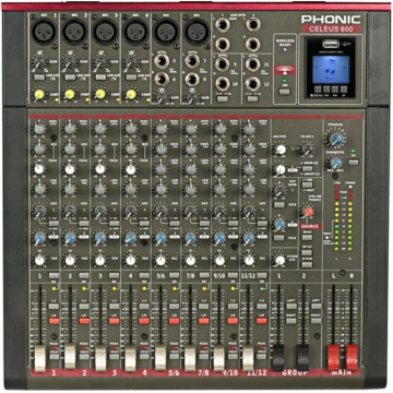 Phonic - Celeus 600 keverő