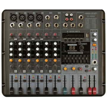 Voice Kraft - VK PM808 Powermixer 2X200W 4Ohm
