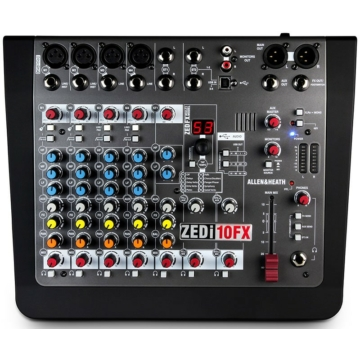 Allen & Heath - ZEDi-10-FX Keverőpult USB Interface