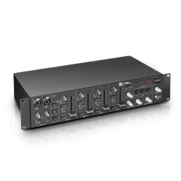 LD Systems - ZONE 423 kétzónás rack keverő